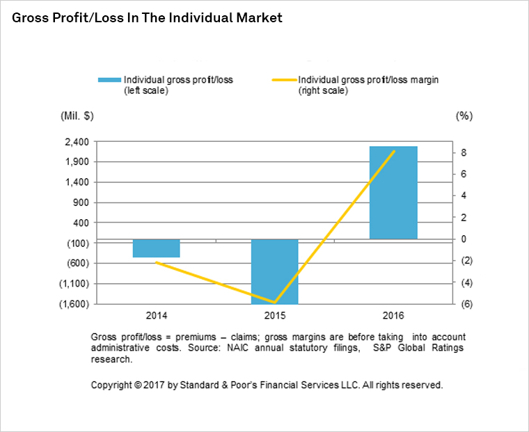 Gross Profit/Loss in the Individual Market