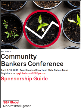 9th Annual Community Bankers Conference | S&P Global Market