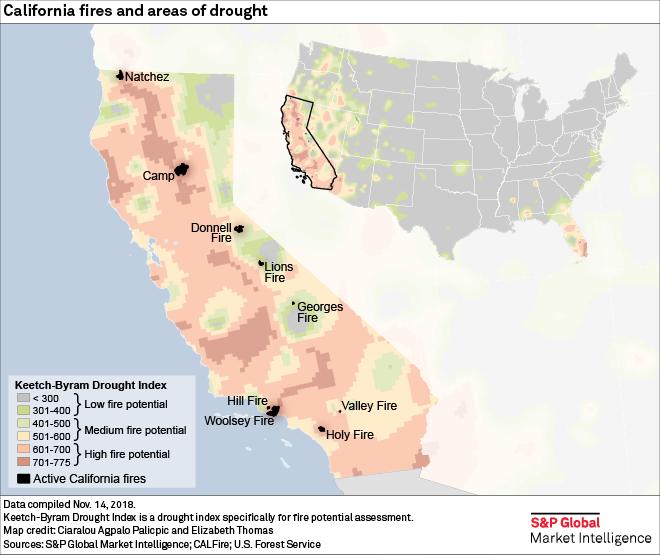 California S Deadliest Wildfire Highlights Emerging Risk S P